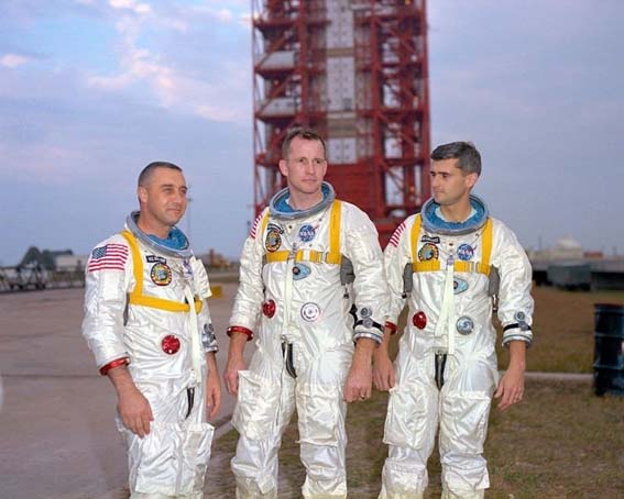 Apollo, NASA, Grissom, White, Chaffee