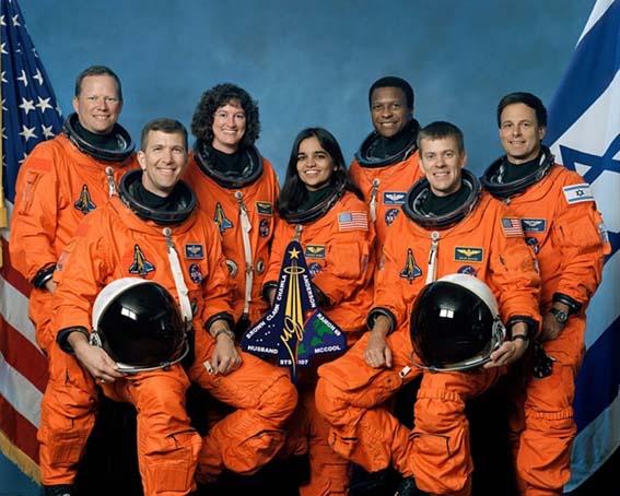 Columbia crew įgula2003