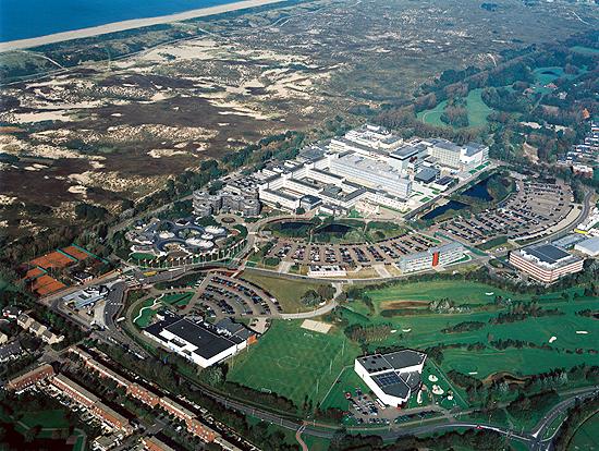 Aerial view of ESTEC