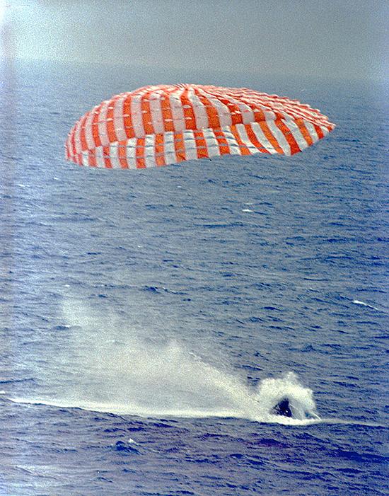 Gemini - 9 nusileidimas