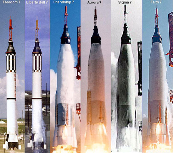 Mercury 7 rocket, NASA