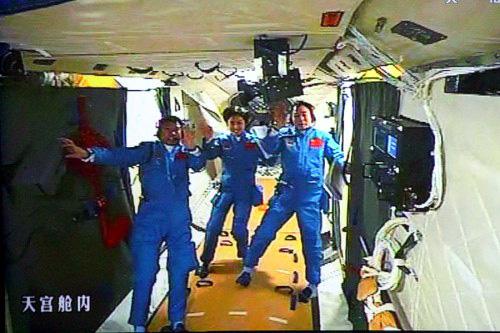 Salut, Skylab, Mir, TKS, Tiangong 1, Tiangong 2, Tiangong in Space