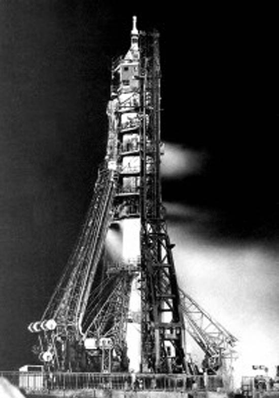 Soyuz-1Startas