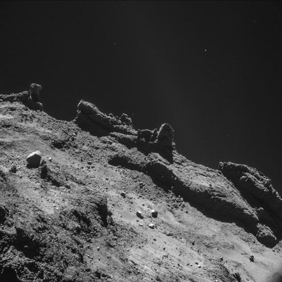Philae, Rosetta, kometa 65P/Churyumov Gerasimenko, ESA, Cometa