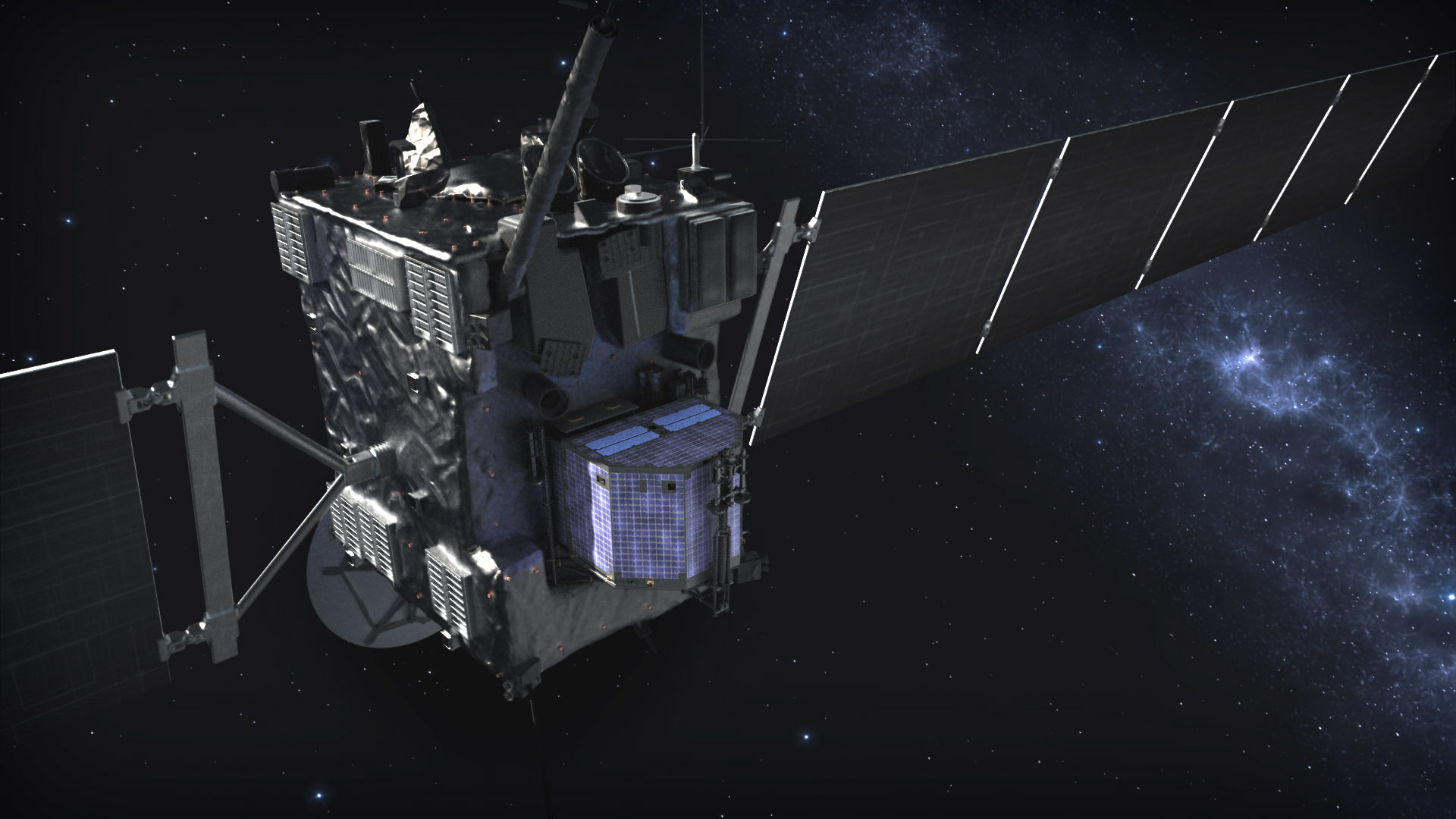 Philae, Rosetta, kometa 65P/Churyumov Gerasimenko, ESA, Rosetta