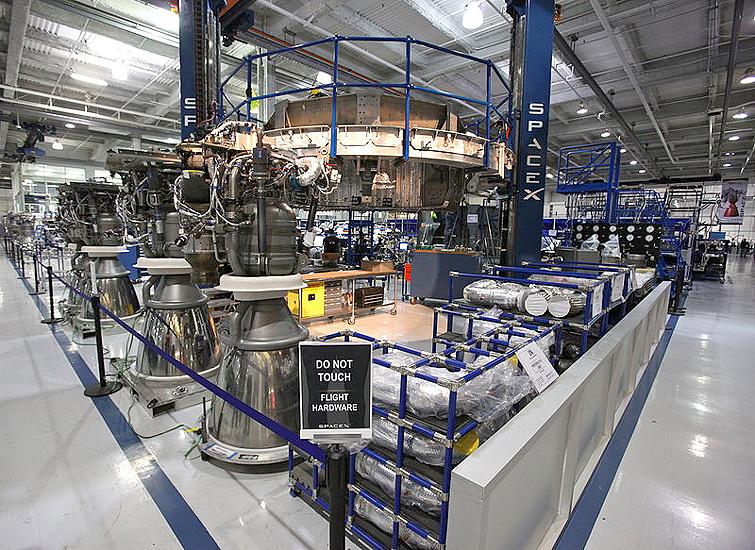 variklis Merlin, Falcon 9, SpaceX - raketa kyla, klaidos taisomos Merlin1Da
