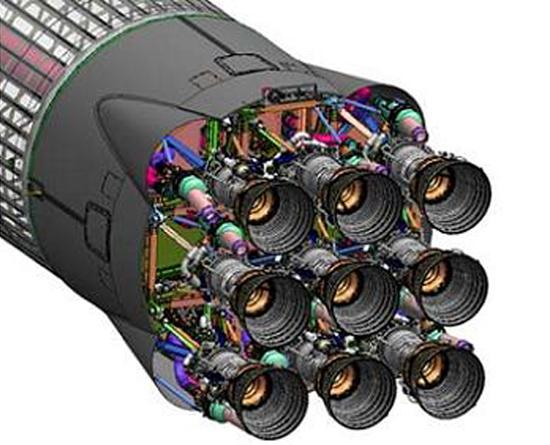 variklis Merlin, Falcon 9, SpaceX - raketa kyla, klaidos taisomos Merlin1Db