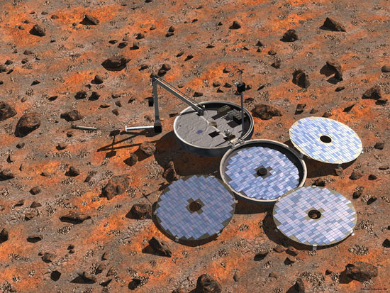 Beagle 2, Carl Sagan, Curiosity, Mars Express, Opportunity, Phoenix, Sojourner, Spirit, Viking 2, Viking 1 Artist_s_impression_of_Beagle_2_lander