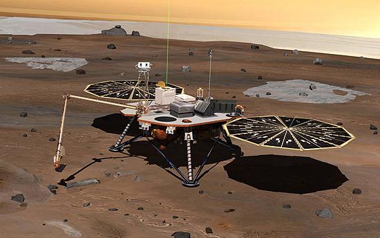 Beagle 2, Carl Sagan, Curiosity, Mars Express, Opportunity, Phoenix, Sojourner, Spirit, Viking 2, Viking 1 Phoenix_2008