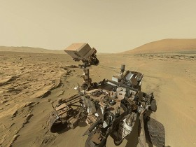 Beagle 2, Carl Sagan, Curiosity, Mars Express, Opportunity, Phoenix, Sojourner, Spirit, Viking 2, Viking 1 Curiosity selfie