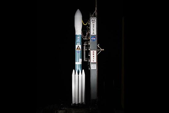 Delta II rocket start