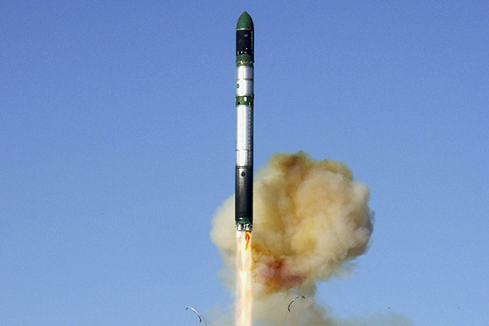 Dnepr Ukraina rocket start