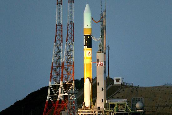 JAXA rocket H2A