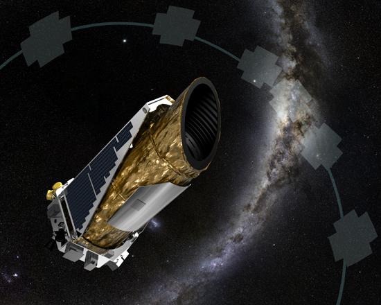 Teleskopas, Compton, Chandra, Fermi, GAIA, Kepler observator