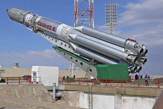 Proton M Rusia rocket