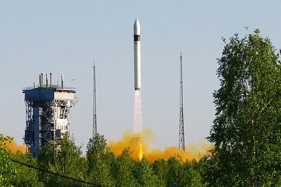 Rokot rocket start