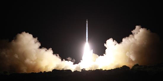Shavit rocket start