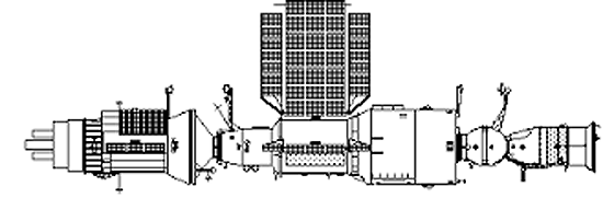 Kosmos-1686 - Saliut - 7 - Sojuz T-15