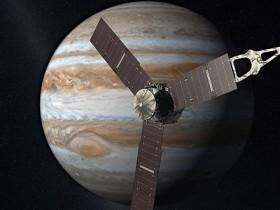 JUNO, Jupiteris, Saturnas juno-spacecraft-jupiter