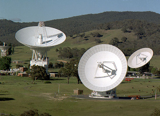 NASA Deep space network Canberra