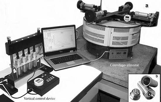 centrifuga klinostatas