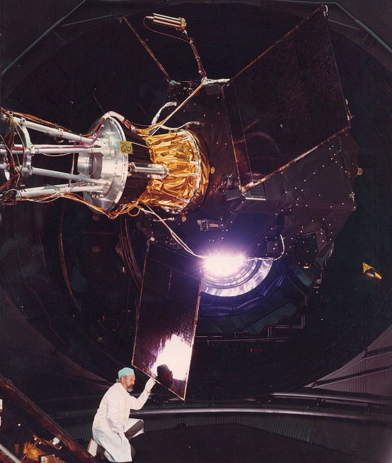 ESA, Hypparcos, HERTS, Em-Drive, Helios, Hipparcos test in LSS, ESTEC, February 1988, Dieter Bock