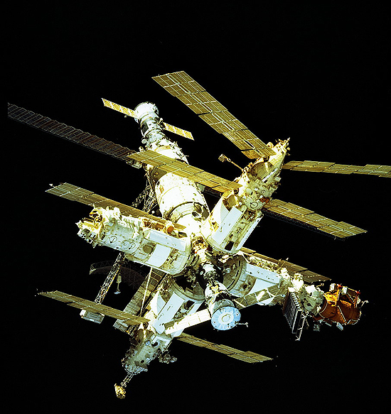 A. Lazutkin, NASA, Mir STS-81_MIR