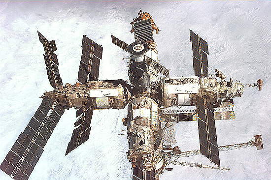 A. Lazutkin, NASA, Mir STS-89_MIR