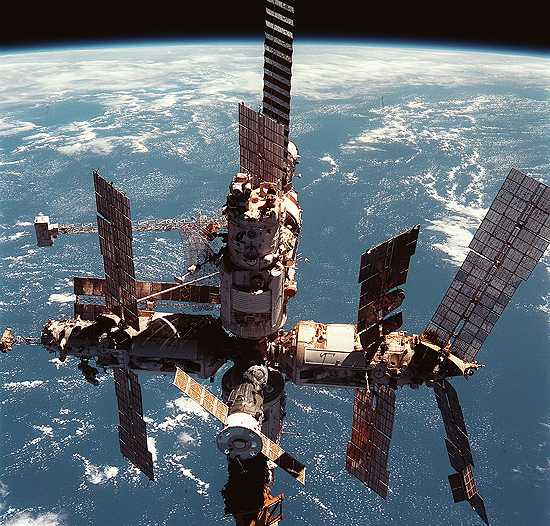 A. Lazutkin, NASA, Mir, STS-91
