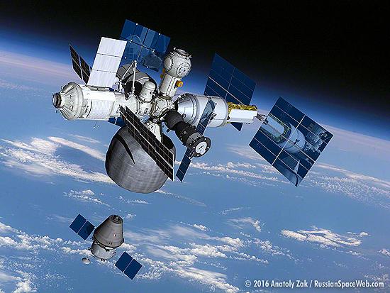 Rusijos orbitine stotis 2