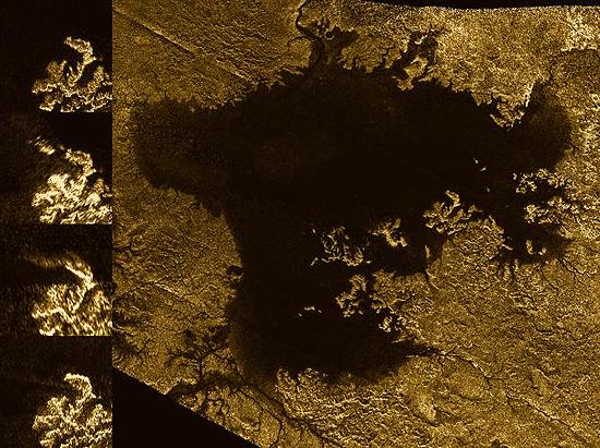 Titan sea