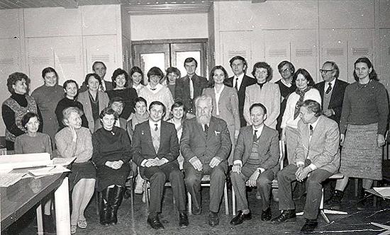 Viktor Savinych ir akademikas Alfonsas Merkys