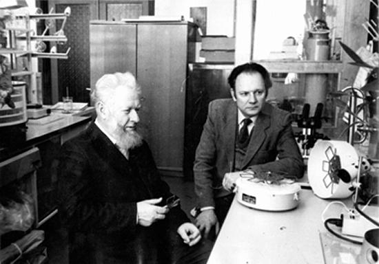 Alfonsas Merkys ir Romualdas Laurinavičius