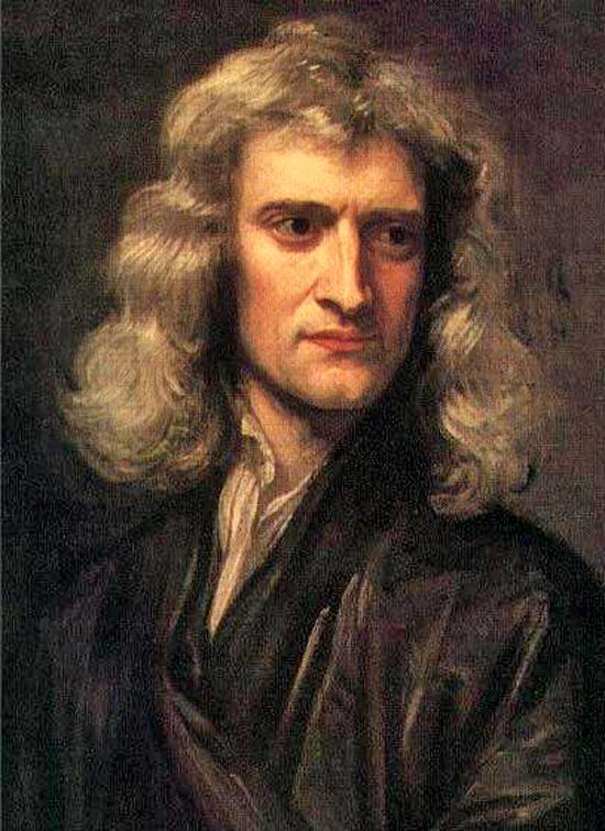 Gravitacija, LIGO, LISA I. Newton