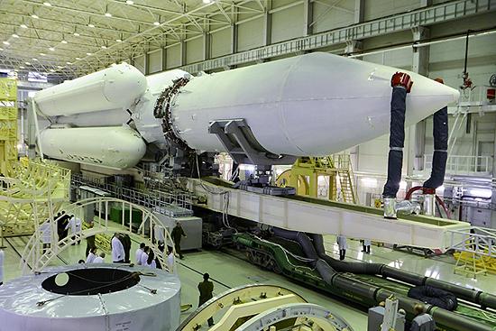 Federacija, Rusija, erdvėlaivis Angara A5 03