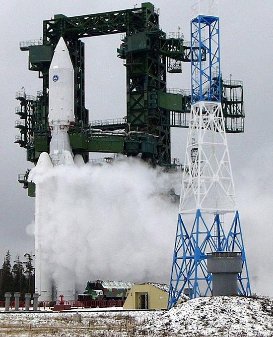 Federacija, Rusija, erdvėlaivis Angara A5 12
