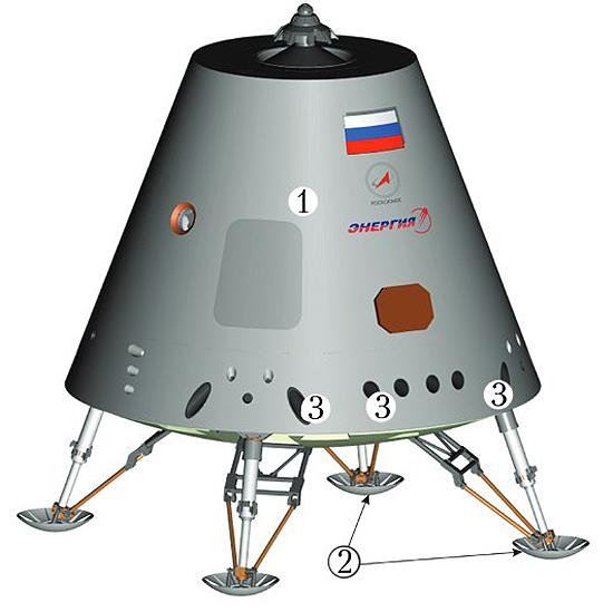 Federacija, Rusija, erdvėlaivis Federacija 14