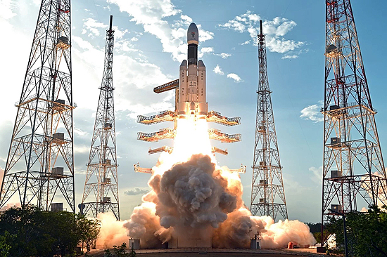 GSLV-MK-3 rocket start