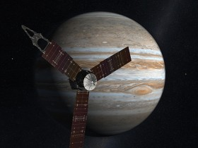 Juno Mission to Jupiter (2009 Artist's Concept )