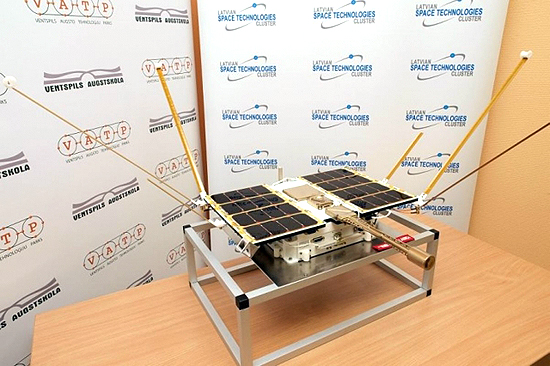LituanicaSat-2, Cartosat-2, Nanoavionika, ISRO, PSLV-C38, Venta-1