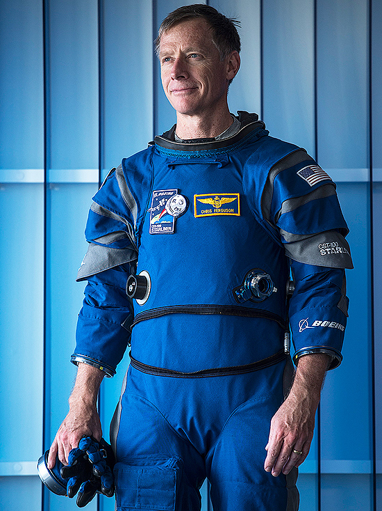Starliner Space Suit