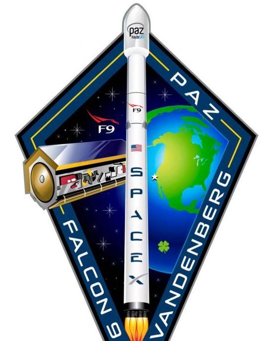 PAZ mission logo