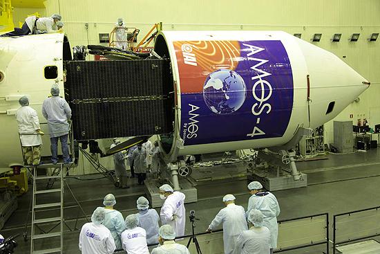 ESA, NASA, Roskosmos, CNSA, JAXA, ISRO Amos satellite