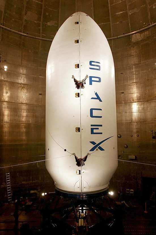 SpaceXFairing