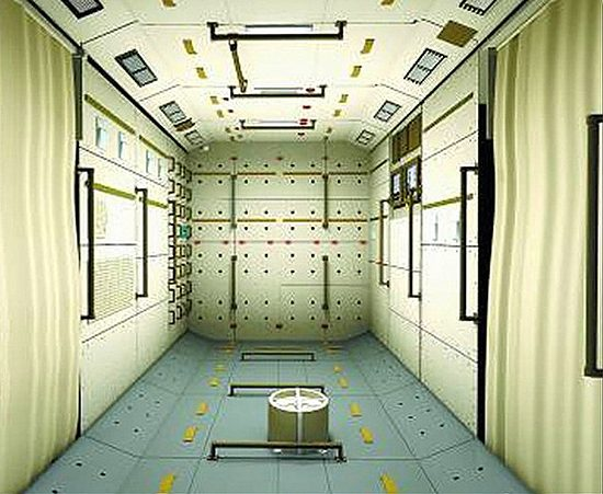 Tiangong-1_Inside
