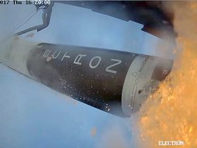 electron-test-flight-2. Photo: Rocket Lab