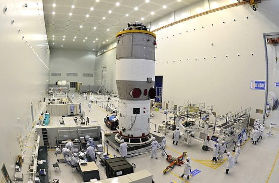 tiangong-2-in-assembly