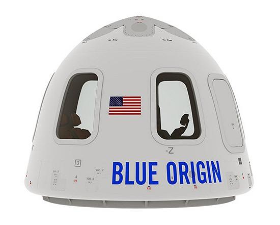 New Shepard Blue Origin