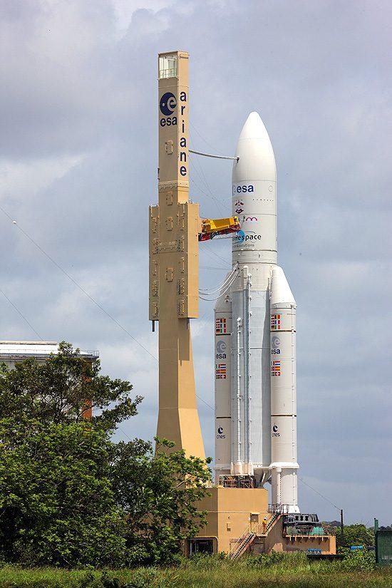 Ariane 6, Europos Kosmoso Agentūra, Ariane 5, Kinija, Airbus Ariane 5 with_ATV_4