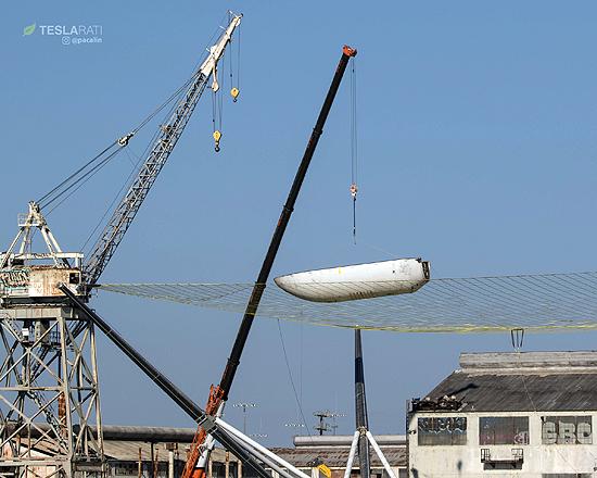 SpaceX, Mr. Steven, treniruotė, E. Musk